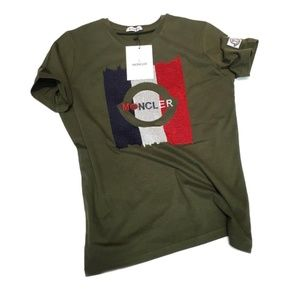 MONCLER CASUAL REGULAR FIT COLOR GREEN GRAY